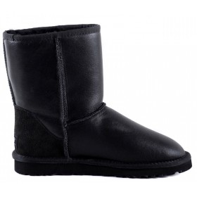 Мужские UGG Australia (Угги Австралия) Classic Short Metallic Black Men