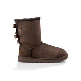Женские угги UGG Australia Bailey Bow Chocolate