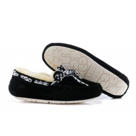 Женские мокасины UGG Australia Dakota 78 Slipper Black