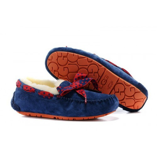 Женские мокасины UGG Australia Dakota 78 Slipper Dark Blue