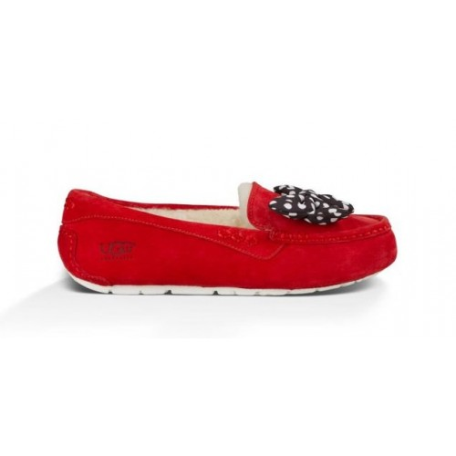 Женские мокасины UGG Disney Topolina Moccasins in Red