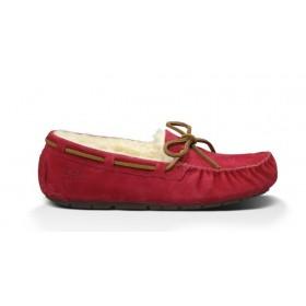 Женские мокасины UGG Australia Dakota Slipper Red