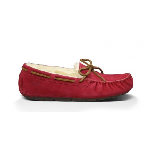Женские мокасины UGG Australia Dakota Slipper Red