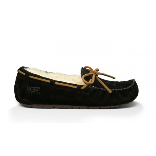 Женские мокасины UGG Australia Dakota Slipper Black