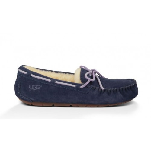 Женские мокасины UGG Australia Slipper Navy Blue