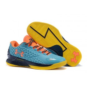 Under Armour Curry One Low SC30 Bolt Orange мужские кроссовки