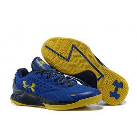 Under Armour Curry One Low SC30 Nation Royal Gold мужские кроссовки