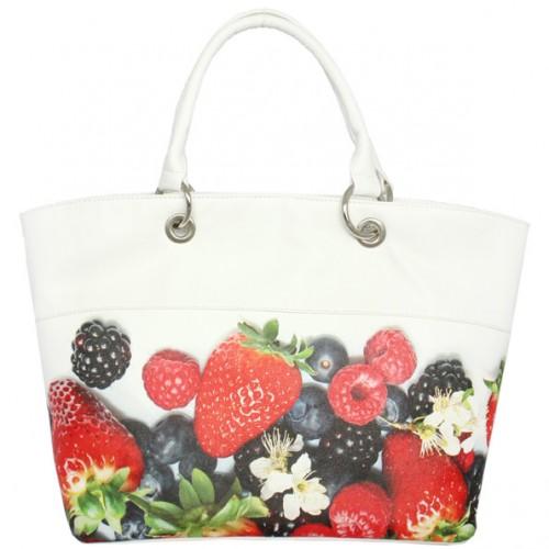 Женская сумка Berries White