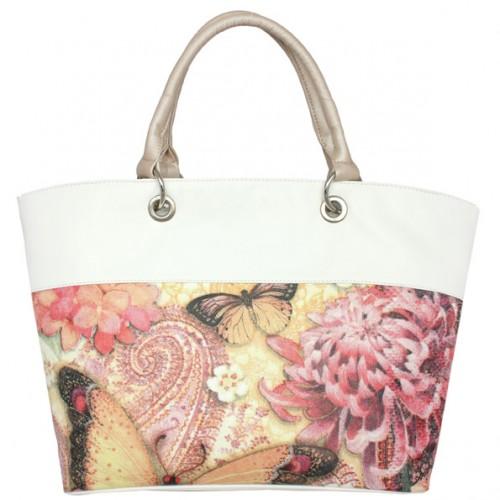 Женская сумка Butterfly White