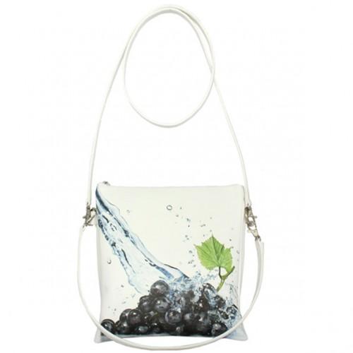 Женская сумка Dark Grapes White
