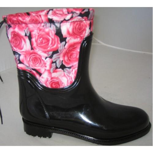 Женские резиновые сапоги Valex Roses Mini