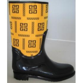 Резиновые сапоги Valex Givenchy Yellow High