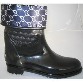 Резиновые сапоги Valex Gucci Black Blue