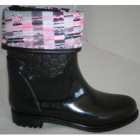 Резиновые сапоги Valex Pink Grey