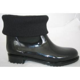 Резиновые сапоги Valex Knitwear Black