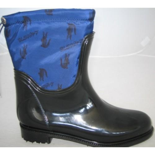 Женские резиновые сапоги Valex Lacoste Mini Blue