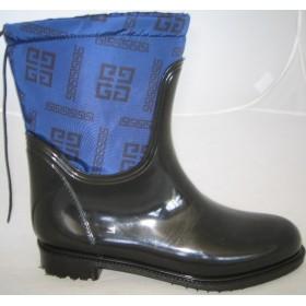 Резиновые сапоги Valex Givenchy Mini Blue
