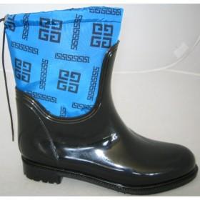Резиновые сапоги Valex Givenchy Mini Bright Blue