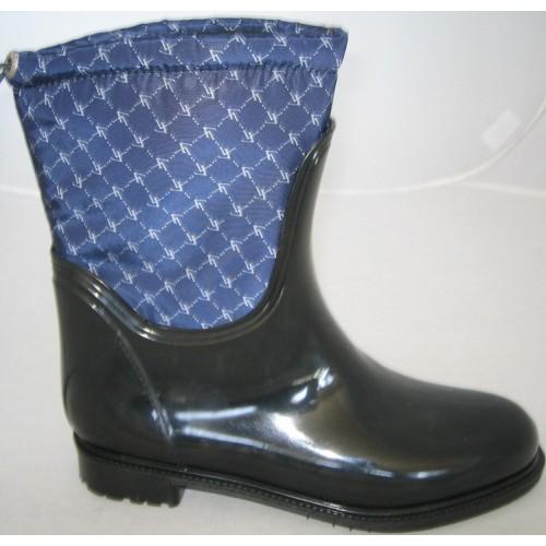 Женские резиновые сапоги Valex Square Mini Blue
