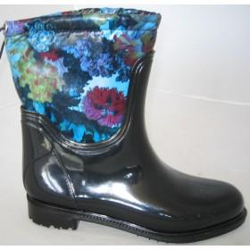 Резиновые сапоги Valex Flowers Watercolor Mini Blue