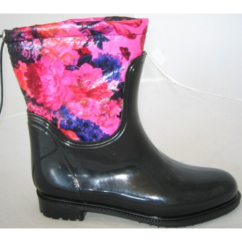 Резиновые сапоги Valex Flowers Watercolor Mini Pink Blue