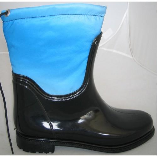 Женские резиновые сапоги Valex Classic Mini Light Blue