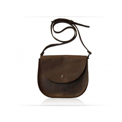 Wellbags Bag Brown Saddle кожаная сумка