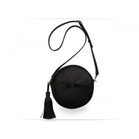 Wellbags Black Bag Circle