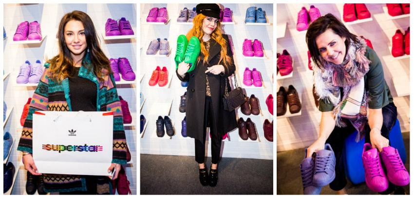 Женские кроссовки Adidas Superstar Supercolor