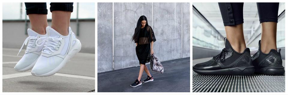 Женские кроссовки Adidas Tubular Runner