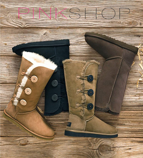 Женские угги Ugg Australia Bailey Button Triplet